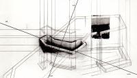 "Johanne Gagnon À DESSEIN © Johanne Gagnon, exposition "" À dessein"", Galerie B-312, 1993."