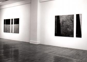 Robert Dufour ANALYSE D'UNE TRANSMUTATION © Robert Dufour, exposition à la Galerie B-312, 1994.