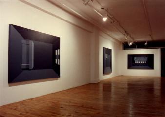 """Guy Lapointe et Jean Pelchat FIGURES — SECOND VOLET @ Guy Lapointe et Jean Pelcat, exposition """"Figures - second volet"""", Galerie B-312, 1992."""