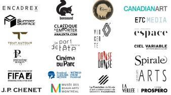 """Partenaire de l'exposition """"UNE VENTE—QUATRE-VINGTS ARTISTES—CENT ŒUVRES"""""""