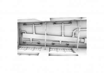 Engramme, modélisation de la ventilation