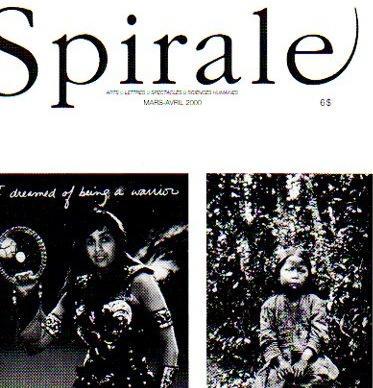 Lancement de la revue Spirale n˚ 171 AMÉRINDIENS ET MÉTIS : ART ET POLITIQUE