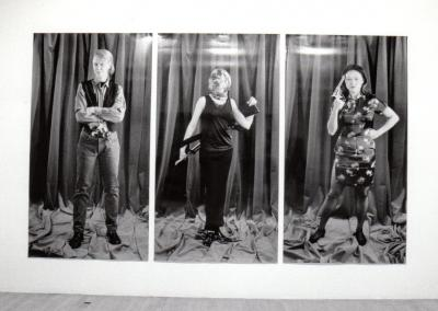 "ANNIE GET YOUR GUN © Lynne Marsh, exposition ""Get Your Gun"", Galerie B-312, 1995."