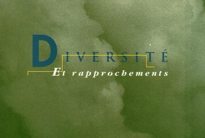 "Josée Bernard DIVERSITÉ ET RAPPROCHEMENTS © Exposition ""Diversité er rapprochements"", Galerie B-312, 1995."