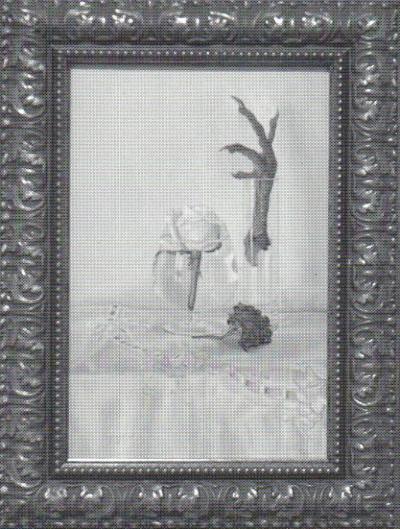 """Céline B. La Terreur la vie en roses ©  Céline B. La Terreur, exposition """"La vie en roses"""", Galerie B-312, 2001."""