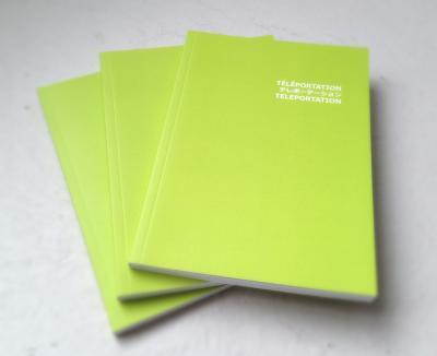 SATORU TAMURA LANCEMENT DE LA PUBLICATION TÉLÉPORTATION © Téléportation — Galerie B-312, 2015