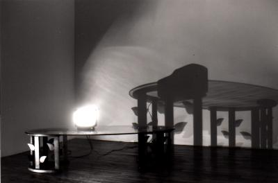 """Josée Bernard LES LENDEMAINS © Josée Bernard, exposition """"Sculptures"""", Galerie B-312, 1992."""