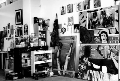 Gabrielle Lajoie-Bergeron Peinture et reflet social © Gabrielle Lajoie-Bergeron—Galerie B-312
