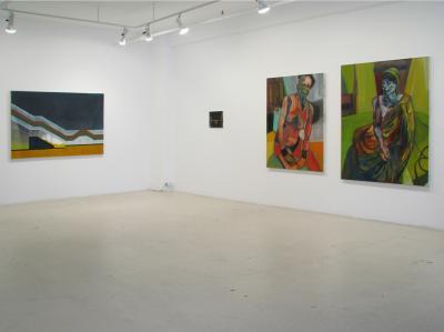 Brendan Flanagan six peintres—deux écoles—trois lieux—une rencontre © Noémie Weinstein, Jenna Meyers