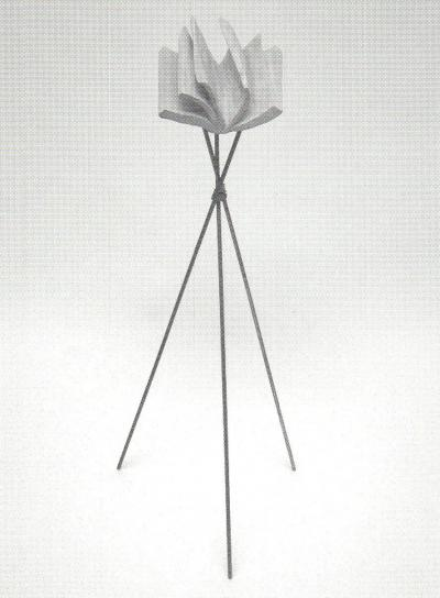 "Karen Trask TOUCHER DU BOIS — TOUCH WOOD © Karen Trash, exposition ""Toucher du bois - Touch wood"", Galerie B-312, 2000."